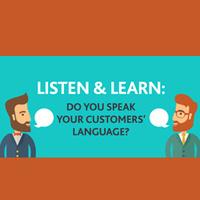 Speaking Your Customers Language (CSAC01-0038)