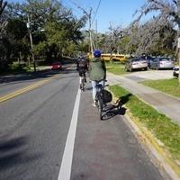 Bike Ride to Black Dog Cafe on Railroad Square