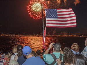 Annapolis Independence Day Fireworks Cruises