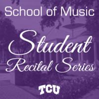 Student Recital Series: David Montequin, saxophone.