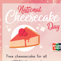 Student Union: National Cheesecake Day