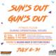 UREC: Edinburg - Sun's Out, Gun's Out
