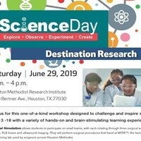 Destination Research - Science Day 2019