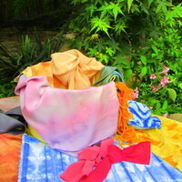 Natural Dye Workshop - Natural Dyes from the Garden