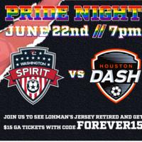 Washington Spirit vs Houston Dash
