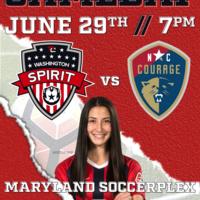 Washington Spirit vs North Carolina Courage