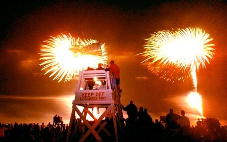 July 4th Fireworks at Jones Beach