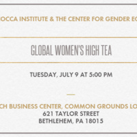 Global Women's High Tea | Center for Gender Equity