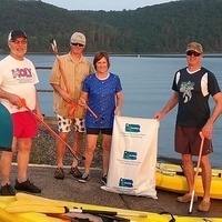 Friends of Beltzville State Park Shore line/Kayak Clean Up