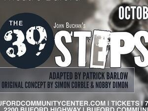 The 39 Steps Presented by Theatre Buford