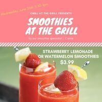 Smoothies at the Grill- Weds, June 26th   Dining Services