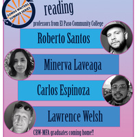 """""""Somos Writers Summer Series"""", Reading from El Paso Community College Professors"""
