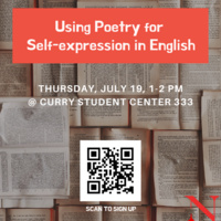 Using Poetry for Self-expression