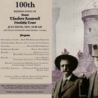 Mount Roosevelt Friendship Tower 100th Rededication Ceremony July 6, 2019