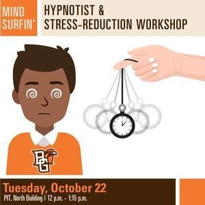 Mind Surfin' Hypnotist & Stress-Reduction Workshop