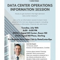 Data Center Operations Open House & Info Session