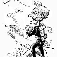 Jacques Cousteau at Chautauqua