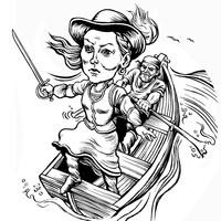 """""""Pirate Queen"""" Grace O'Malley at Chautauqua"""