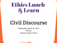 Ethics Lunch & Learn- Spring