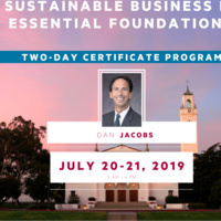 Introduction to Sustainable Business II: Essential Foundations - Executive Education course