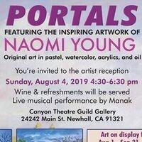 Artist Reception - Portals