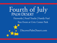 5 stars - Palm Desert Fourth of July Celebration