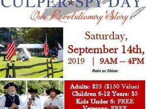 5th Annual Culper Spy Day