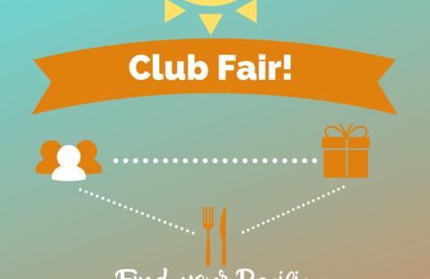 Club Fair featuring Pacific student organizations