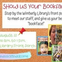 Make a BookFace with Library Staff