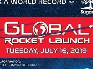 Sugar Hill's Apollo 11 50th Anniversary Community Rocket Launch
