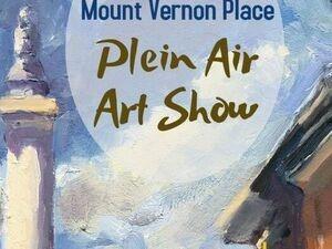 Mount Vernon Place Plein Air Art Show