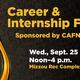 Fall 2019 CAFNR/Arts and Science Career Fair
