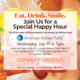 Canopy Bethesda North Hosting Special Happy Hour