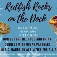 Redfish Rocks on the Dock 2019