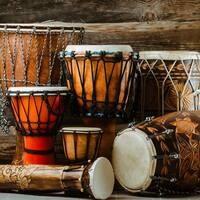 Arts in the Garden: N-Chat Drum Rhythms