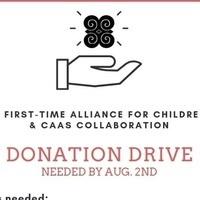Donation Drive for Alliance for Children