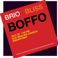 Gala Benefit Concert: Brio Boffo Bliss