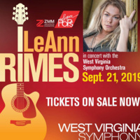 LEANN RIMES WITH THE WV SYMPHONY