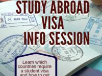 Study Abroad Visa Info Session