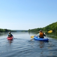 Delaware River Paddle: Riegelsville, NJ to Giving Pond