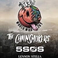 """The Chainsmokers """"WORLD WAR JOY"""" Tour with 5 Seconds of Summer and Lennon Stella"""