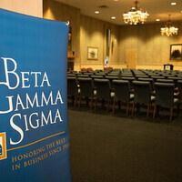 Beta Gamma Sigma Induction Ceremony