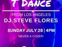 Oscar's Weekly T-Dance • Special dj Steve Flores