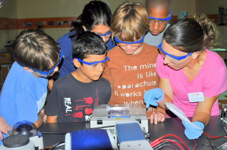Crime Scene Investigation: Clemson!  CULSOC science camp