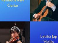 Eastman Performing Arts Medicine: Letitia Jap, violin & Kenneth Kam, guitar