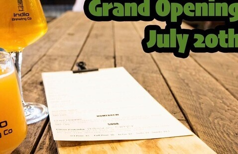 Indio Brewing Co Grand Opening