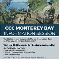 CCC Monterey Bay Info Sessions