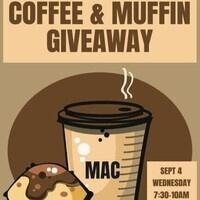 MAC Coffee & Muffin Give Away