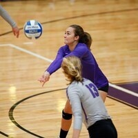 Kenyon College Volleyball vs Allegheny College - Senior Day