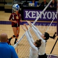 Kenyon College Volleyball vs DePauw University